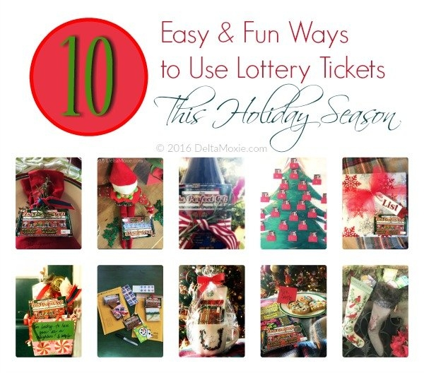 10 Easy, Fun Ways To Use Instant Lottery Tickets This with regard to Lottery Calendar Ideas