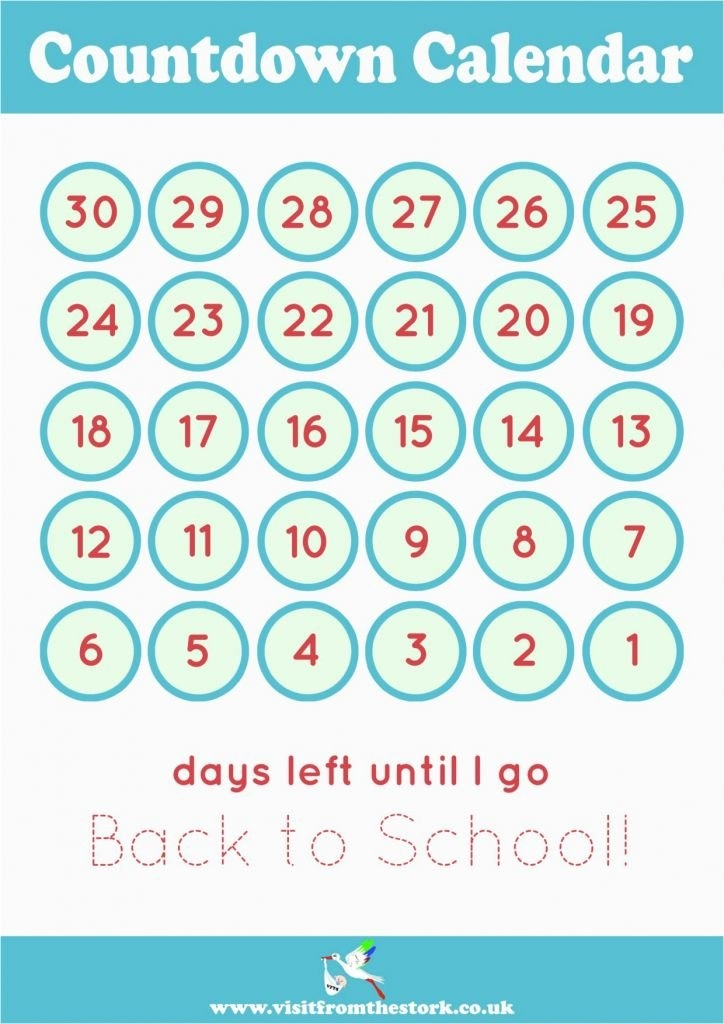 13 Fabulous Vacation Countdown Calendars | Kittybabylove with regard to Free Count-Down Calendar Printable