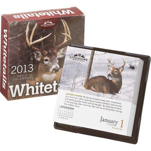 2013 Whitetail Desk Calendar At Legendary Whitetails | Desk with regard to Whitetail Movement Calander For Iowa Photo