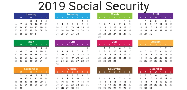 2019 Social Security Payment Schedule - Optimize Your Retirement for August Ssi Payment Calendar