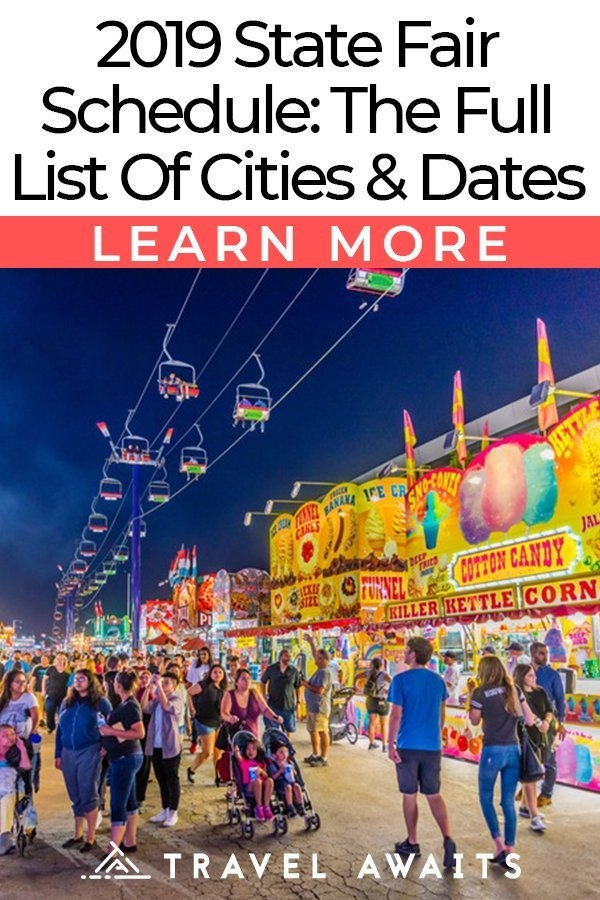 2019 State Fair Schedule: The Full List Of Cities And Dates with Timonium Fairgrounds Events Calendar