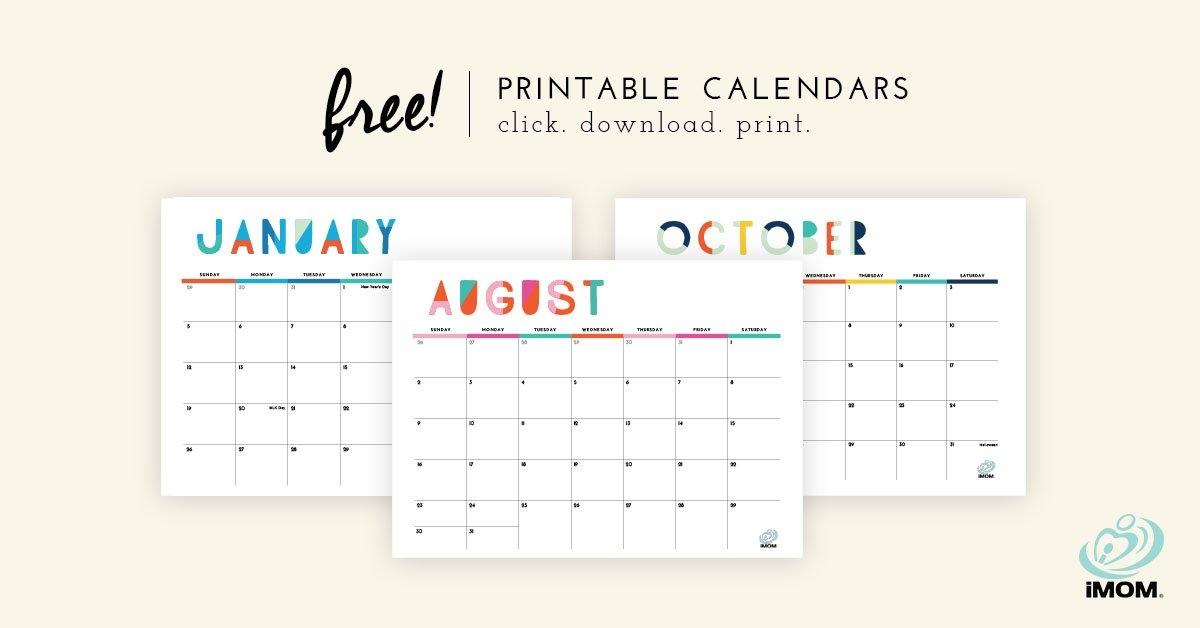 2020 And 2021 Printable Calendars: 9 Free Printable Calendar with regard to Free Printable Calendars