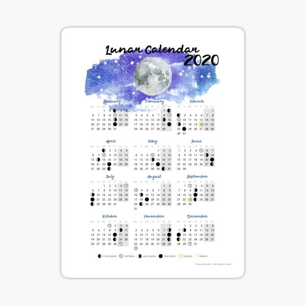 2020 Calendar Stickers | Redbubble for Multi Dose 28 Day Calendar 2020