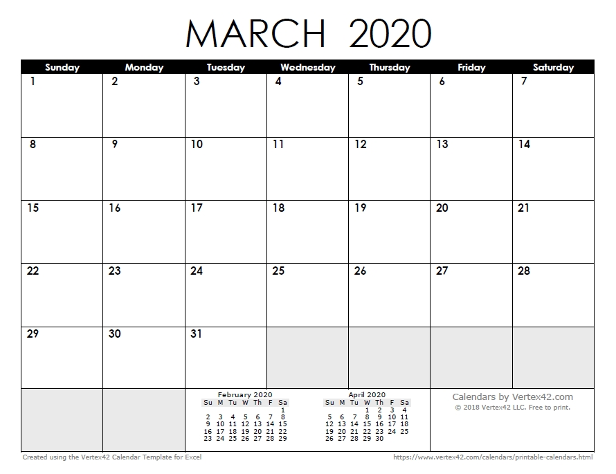 2020 Calendar Templates And Images with Free Printable Lined Monthly Calendar 2020