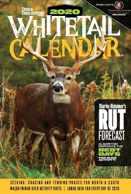 2020 Deer & Deer Hunting Calendars Available - Deer And Deer inside Deer Activity And Luner Calendar