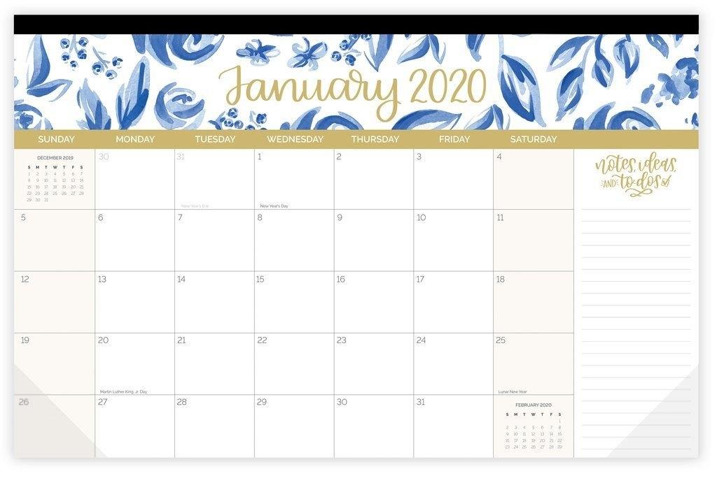 "2020 Desk & Wall Calendar, 11"" X 17"", Seasonal | Wall throughout Free Printable 11X17 Monthly Calendar Photo"