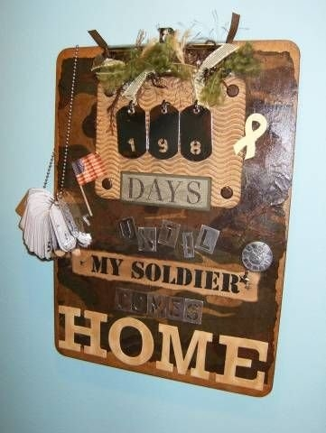 25 Creative Ideas For Deployment Countdowns inside Printable Military Short Timers Calendar Image