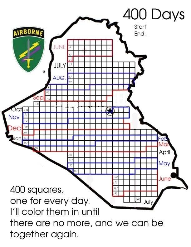 25 Creative Ideas For Deployment Countdowns regarding Military Short Time Calendar