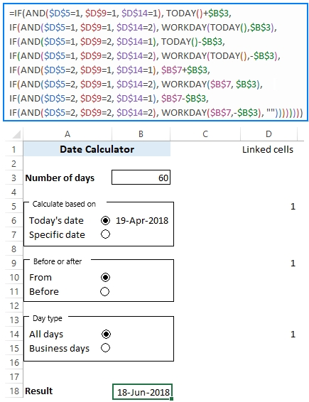 30/60/90 Days From Today Or Before Today - Date Calculator within 90 Day Expiration Calendar 2020 Graphics