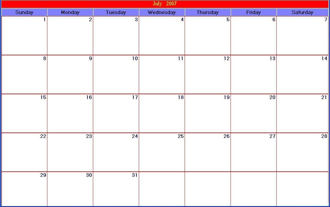 30-Day-Printable-Large-Calendar inside Large Square Calendar Printable