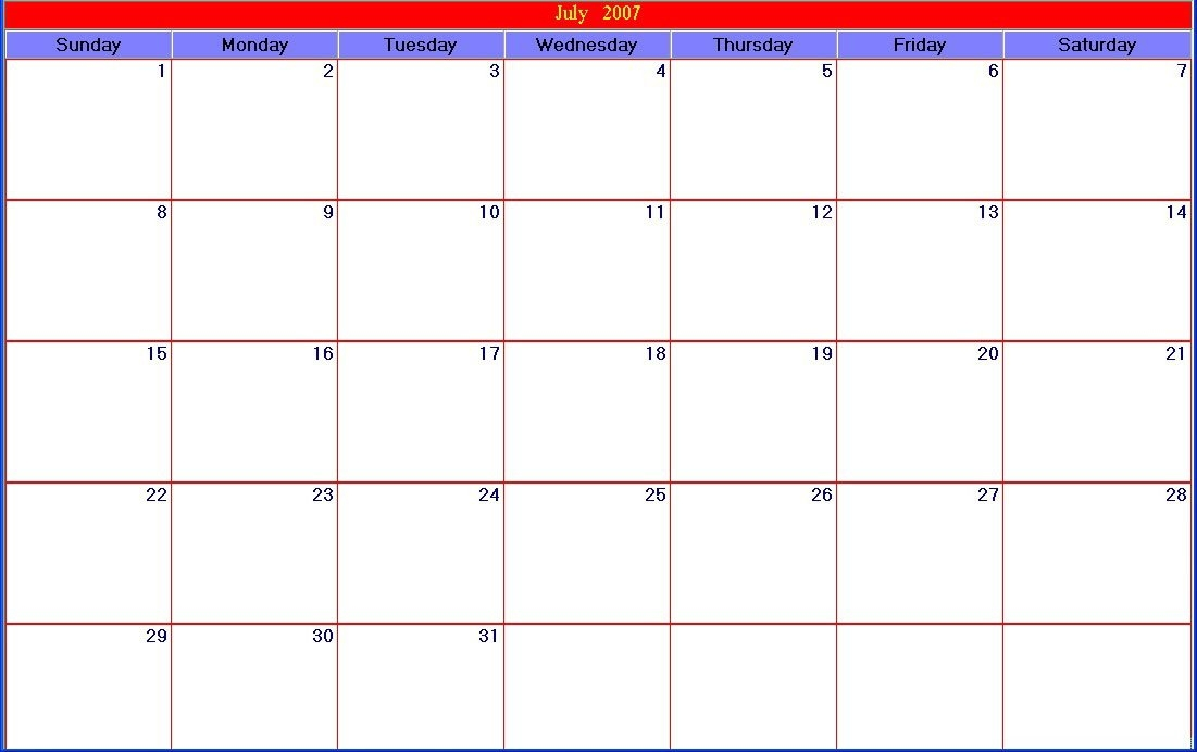 30-Day-Printable-Large-Calendar within Free Printable Large Square Calendars