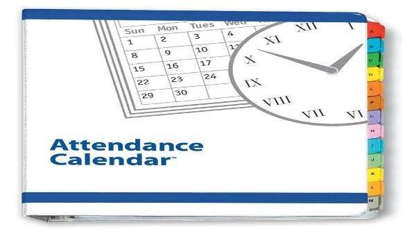 7+ Attendance Calendar Templates - Free Word, Pdf Format inside Editable Attendance Calendar For Teachers