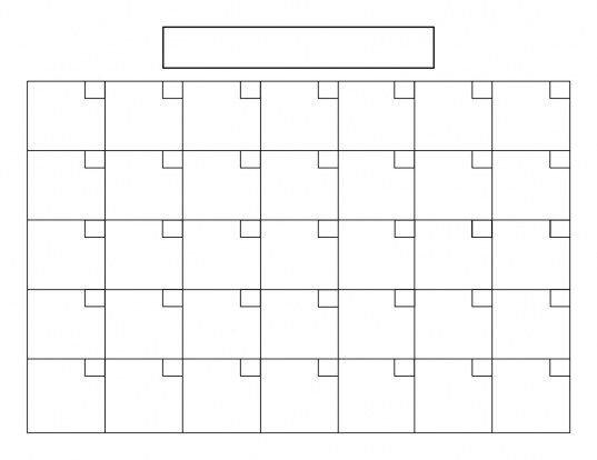 8.5 X 11 Calendars Printable | Printable Calendar Template for 8X11 Printable Blank Calendar Photo