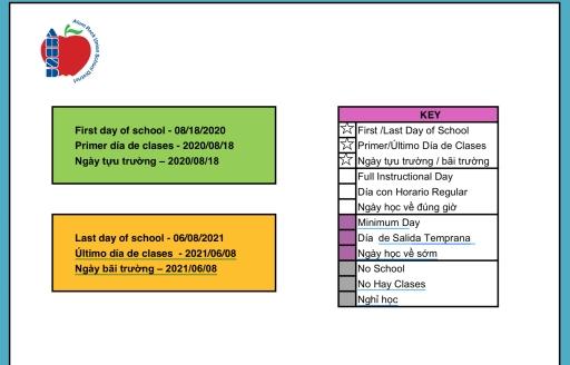 Academic Calendar - Adelante Academy with Manteca Usd Academic Calendar Image