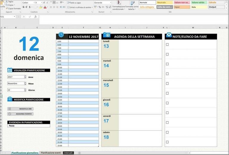 Agenda Gratuita In Excel Download intended for Agenda Calendario Excel