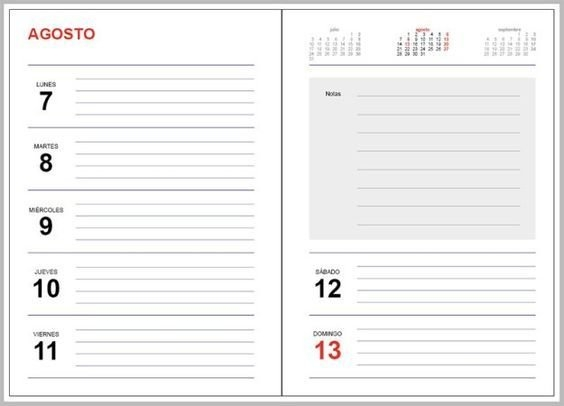 Agendas 2020: Plantillas Indesign Gratis Para Imprimir regarding Agenda 2020 Plantillas Gratis Photo