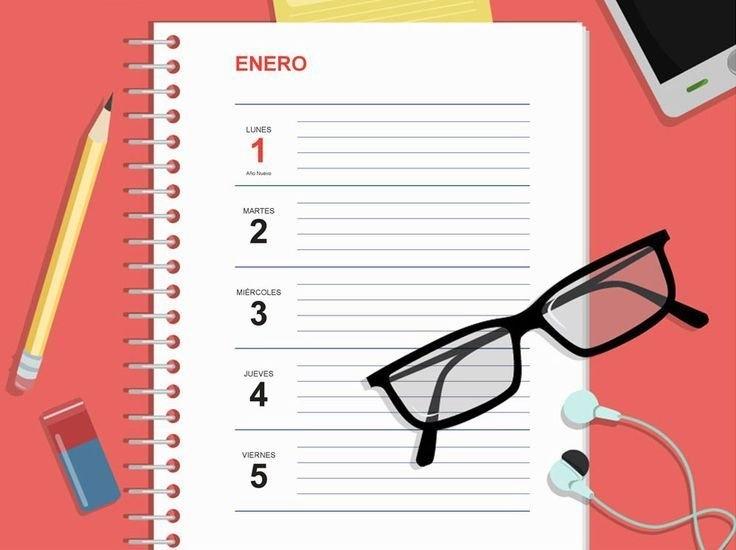 Agendas 2020: Plantillas Indesign Gratis Para Imprimir with Agenda 2020 Plantillas Gratis Photo