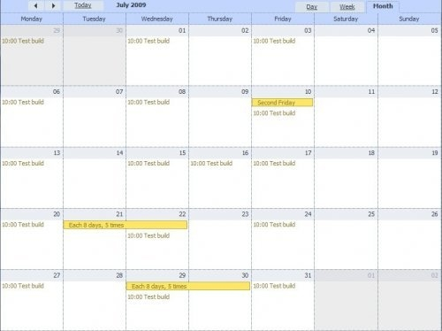Ajax Events Fullscreen Calendar Scheduler - Dhtmlxscheduler within Calendariosy Agendas Graphics