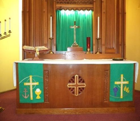 Altar Guild - Our Savior's Lutheran Church throughout Altar Paraments Calendar