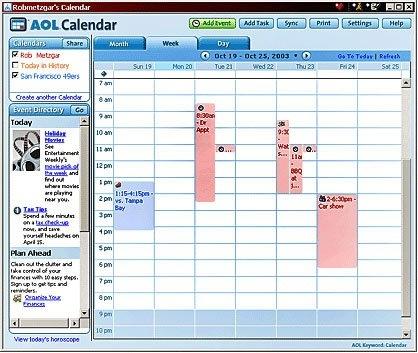 Aol Calendar 6,7,8.0 On Behance intended for Aol Calendar