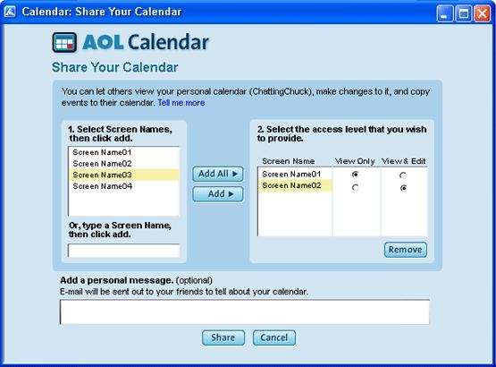 Aol Calendar 6,7,8.0 On Behance pertaining to Aol Calendar