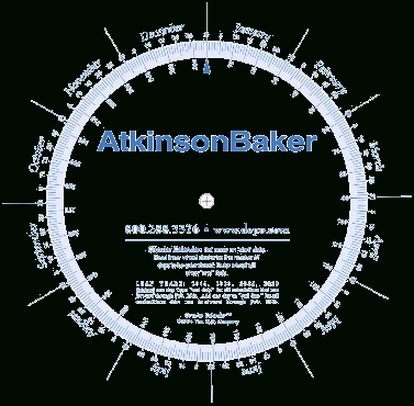 Atkinson-Baker | Filing Date And Deadline Calculator inside Depo -Provera Perpetual Calendar Photo