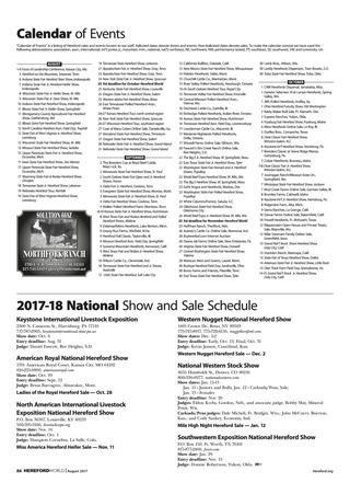 August 2017 Hereford Worldamerican Hereford Association throughout Timonium Fairgrounds Events Calendar