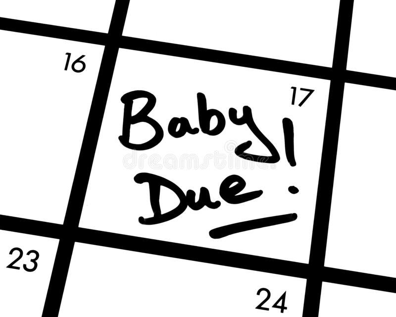 Baby Due Date Stock Photo. Image Of Baby, Child, Copy - 8813228 with regard to Baby Due Date Contest Calendar