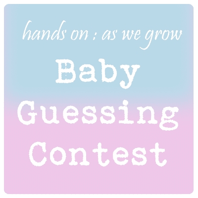 Baby Guessing Contest! | Hands On As We Grow® throughout Guess Baby Date Ballot Image