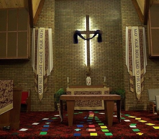 Banners And Paraments For Lent, United Church Of Wayland in Altar Paraments Calendar