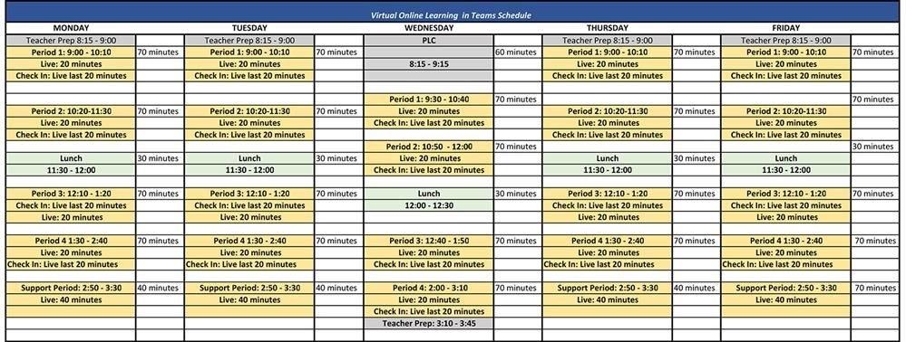 Bell Schedule / Bell Schedule intended for Manteca Usd Academic Calendar