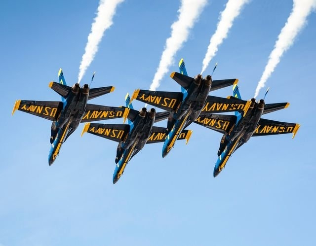 Blue Angels 2020 Schedule & Practice Info in Calander For Blue Angels