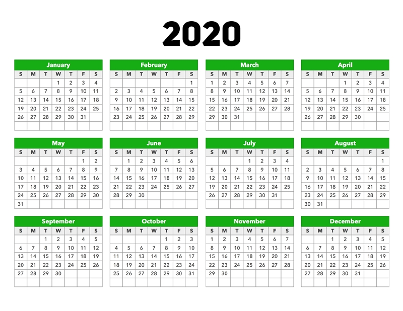 Calendar 2020 – Calendar Options intended for Calendar Photo