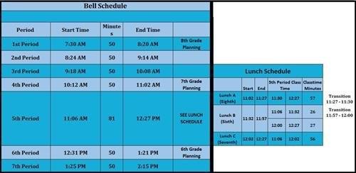 Calendar And Bell Schedule / Bell Schedules within Wcpss Calendars