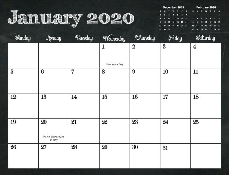 Calendar Templates | Printingcenterusa intended for 11X17 Online Calendar Template