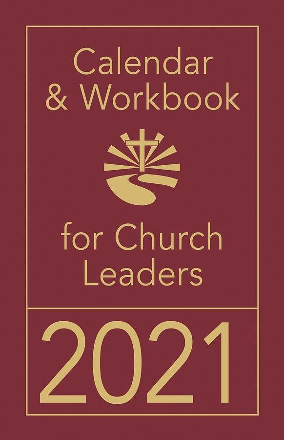 Calendar & Workbook For Church Leaders 2021 throughout Calendar For Church Paraments Image