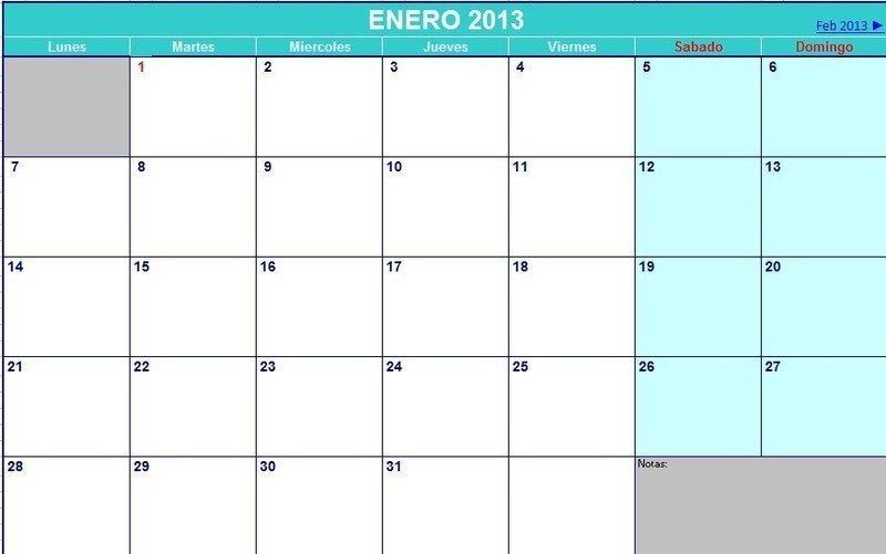 Calendario Agenda 2013 - Opiniones, Precios Y Demo in Calendariosy Agendas Graphics
