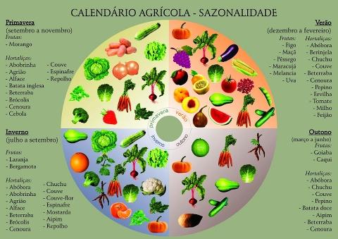 Calendário Agricola - Sazonalidade | Plantio, Horta, Horta with regard to Calebdario Agricola