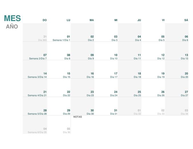 Calendario Juliano (Para Cualquier Año) intended for Calendario De Fechas Julianas Graphics