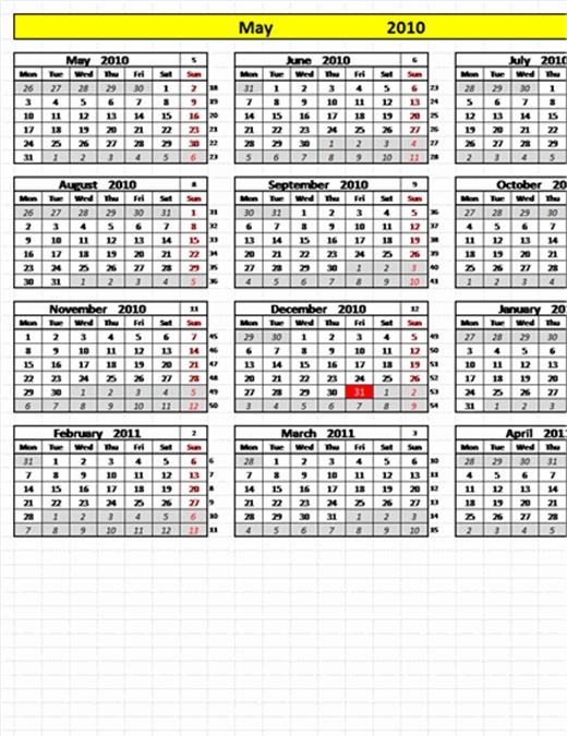 Calendario Perpetuo Con Fechas Programables intended for Calendário Juliano 2020 Excel