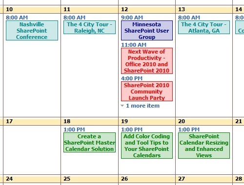 Can I Add Diffrent Colors To Events Of Multiple Calendars In in Color Coded Excel Calendar