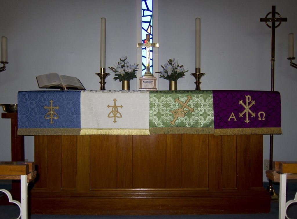 Church Year Service, July 29, 2018 | Good Shepherd Lutheran intended for Altar Paraments Calendar Image