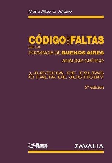 Código De Faltas De La Provincia De Buenos Aires. - Juliano intended for Codigo Juliano Photo