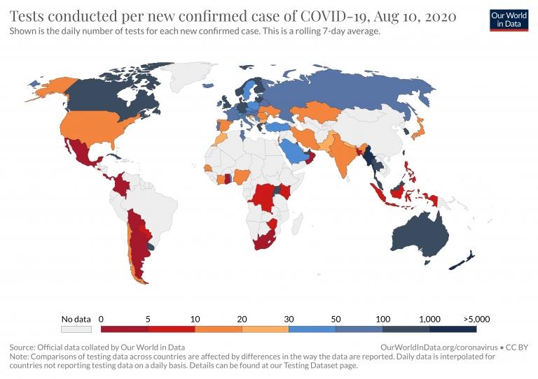 Coronavirus (Covid-19) Testing - Statistics And Research pertaining to Fecha Julina 54 2020