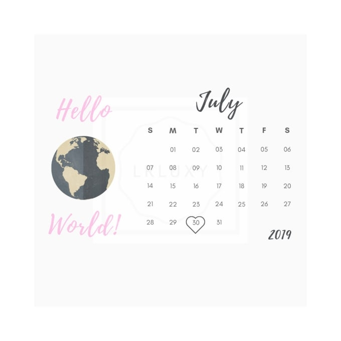 Create A Baby Due Date Printable Calendar For Your Special inside Printable Baby Due Date Calendar