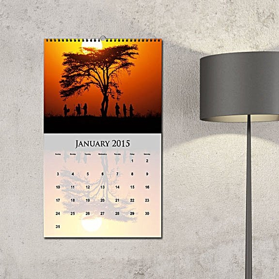 Create Custom Photo Calendars inside 11 X 17 Calendar Image