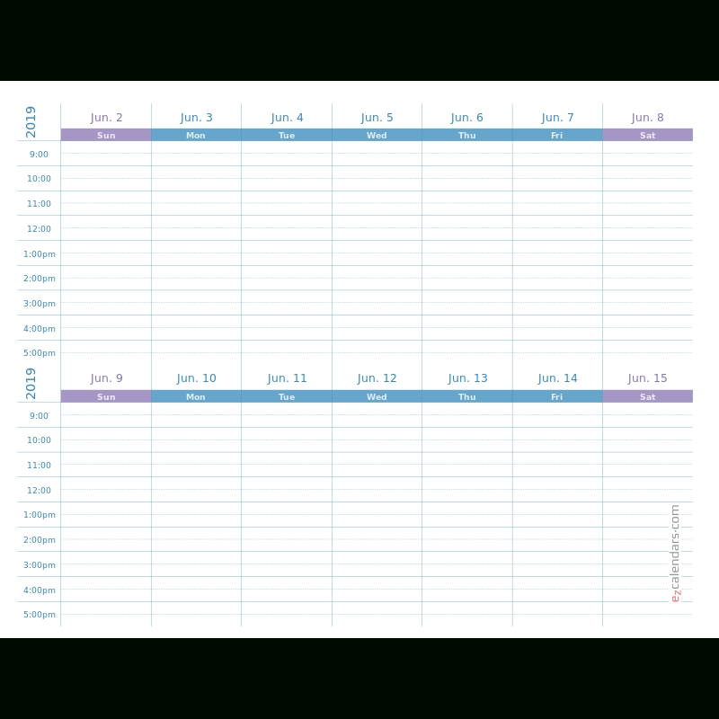 Create Free Printable Monthly, Yearly Or Weekly Calendars throughout 2 Week Schedule Template Free