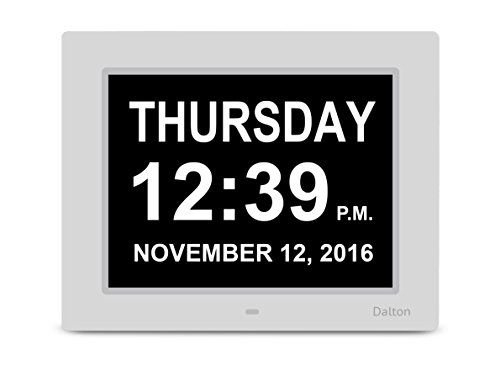 Dalton Memory Loss Digital Clock Large Digital Day Clock intended for Clocks For Dementia