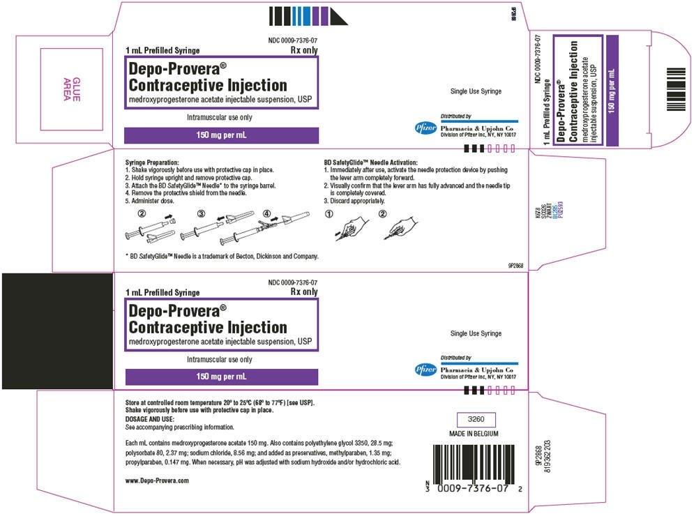 Depo-Provera Contraceptive - Fda Prescribing Information intended for Depo Provera Injection Schedule Chart Photo