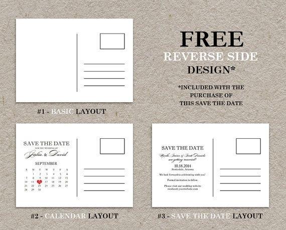 Diy Printable Calendar Save The Date Postcard, Photo Save in Save The Date Printable Calendar Templates Graphics